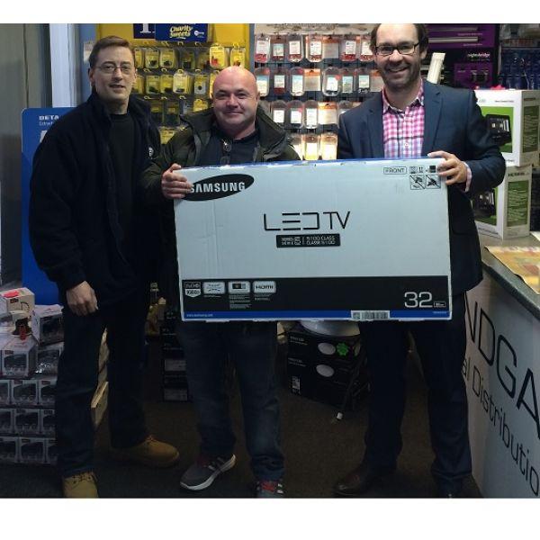 Bondgate Customer Wins TV