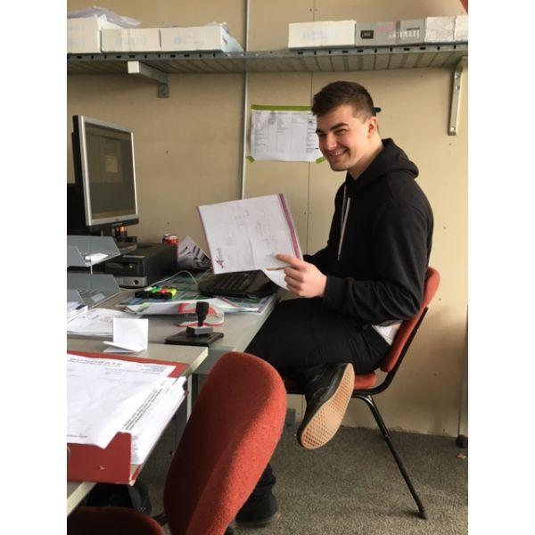 Liam Bondgate Apprenticeship